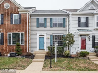 Bristow Townhouse For Sale: 8869 Moat Crossing Place