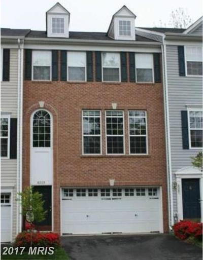 Manassas Townhouse For Sale: 8359 Leighlex Court
