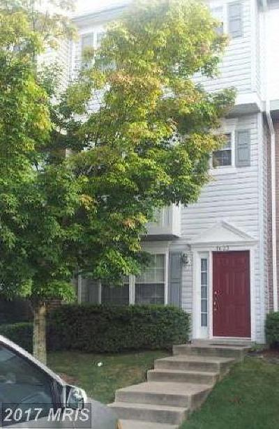 Woodbridge Townhouse For Sale: 3623 Sherbrooke Circle