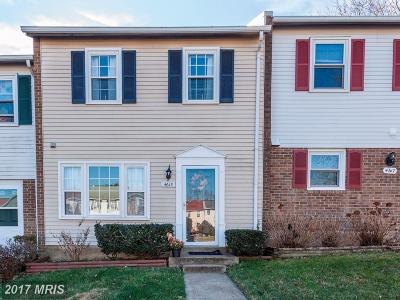 Woodbridge Townhouse For Sale: 4615 Whitaker Place