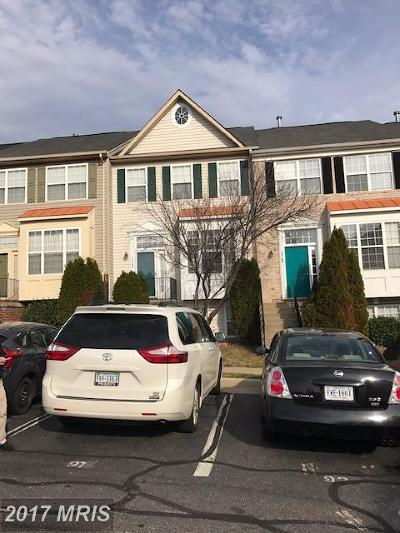 Woodbridge Townhouse For Sale: 15742 Silent Tree Place