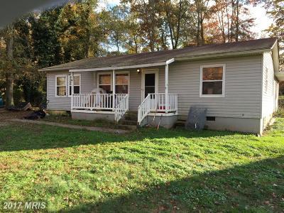 Manassas Single Family Home For Sale: 8101 Leland Road