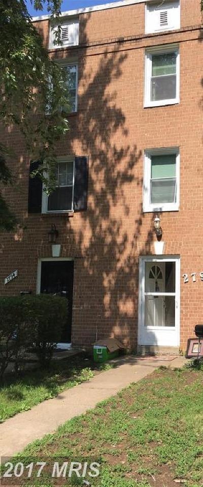 Woodbridge Townhouse For Sale: 2792 Patrick Henry Drive