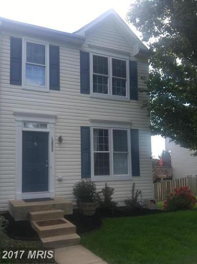 Bristow Townhouse For Sale: 12052 Elliots Oak Place