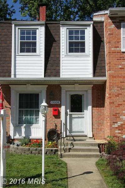 Townhouse Sale Pending: 15008 Ashdale Circle