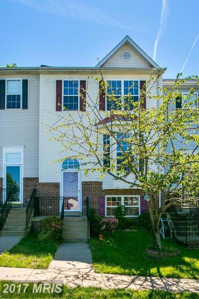 Prince William Townhouse For Sale: 15358 Barnabas Trail