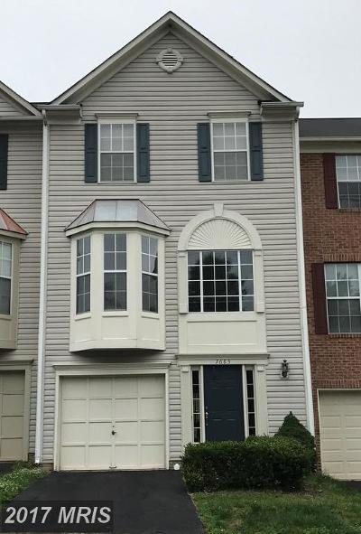 Manassas Townhouse For Sale: 7683 Helmsdale Place