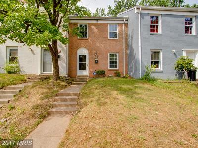 Prince William Townhouse For Sale: 16616 Geddy Court