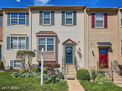 Manassas Townhouse For Sale: 7527 Tendring Trail