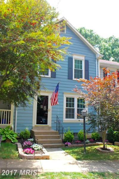 Dumfries Townhouse For Sale: 4204 Jonathan Court