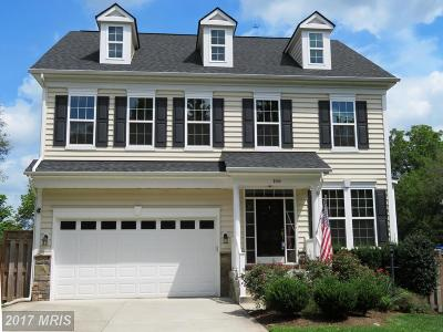 Manassas Park Single Family Home For Sale: 166 Cabbel Drive