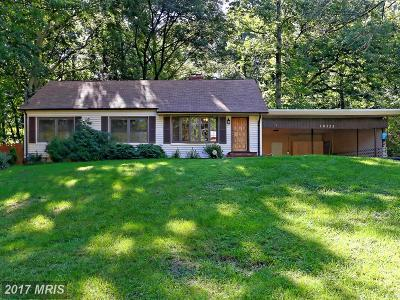 Prince William Single Family Home For Sale: 18323 Sharon Road