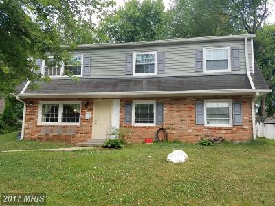 Prince William Single Family Home For Sale: 4105 Gardensen Drive