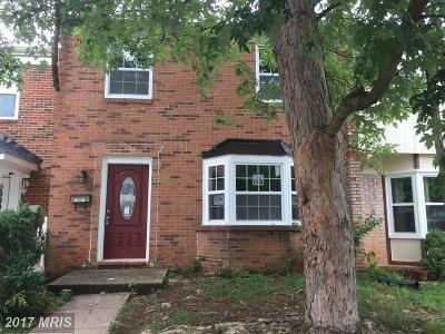 Irongate Townhouse For Sale: 7994 Community Drive