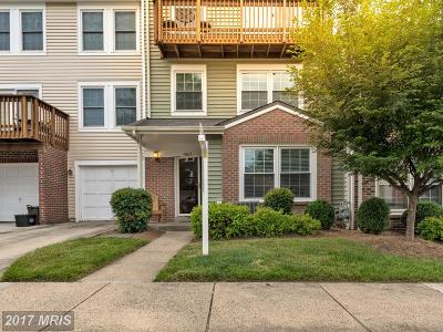 Woodbridge Townhouse For Sale: 4063 Chetham Way