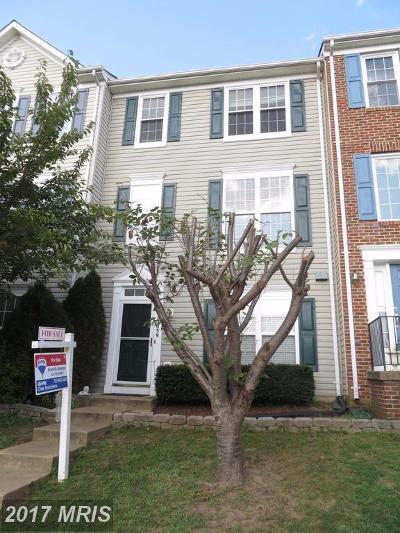 Bristow Townhouse For Sale: 12039 Elliots Oak Place