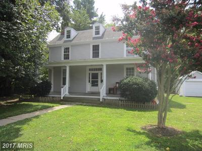 Queen Annes Single Family Home For Sale: 302 Water Street E