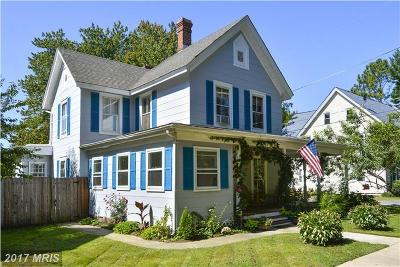 Queenstown MD Single Family Home For Sale: $339,900