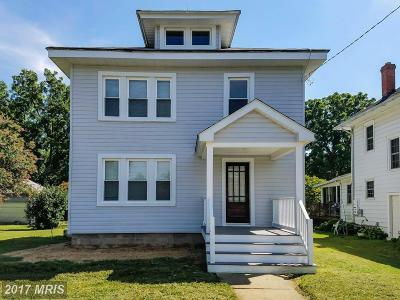 Sudlersville Single Family Home For Sale: 208 N. Church Street