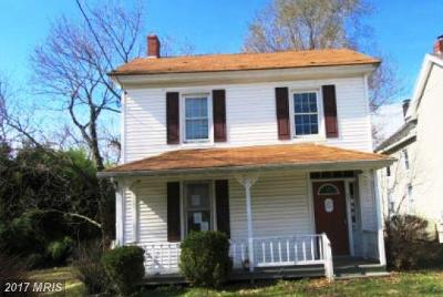 Church Hill Single Family Home For Sale: 537 Main Street