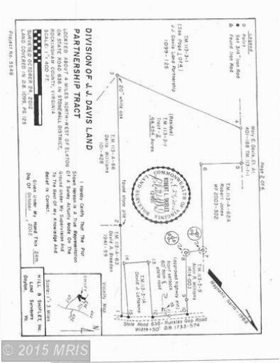 Rockingham Residential Lots & Land For Sale: 636 Runkles Gap Road