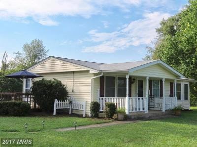 Rappahannock Single Family Home For Sale: 364 Viewtown Road
