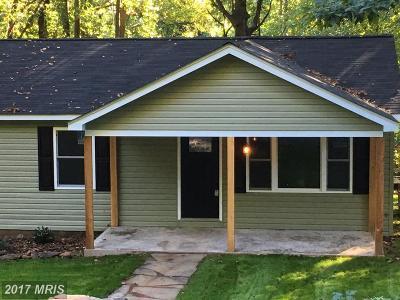 Rappahannock Single Family Home For Sale: 114 Blue Ridge Avenue