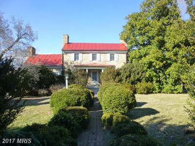 Rappahannock, Fauquier, Madison, Culpeper Single Family Home For Sale: 437 Yancey Road