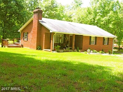 Rappahannock Single Family Home For Sale: 278 Lizzie Mills Road