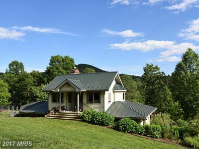 Rappahannock Single Family Home For Sale: 821 Long Mountain Road