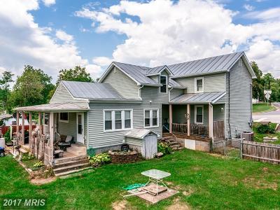 Quicksburg Single Family Home For Sale: 3256 Senedo Road