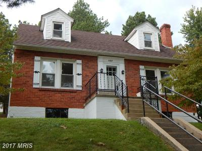 Single Family Home For Sale: 337 Mineral Street