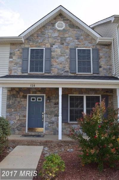 Townhouse For Sale: 138 Founders Way