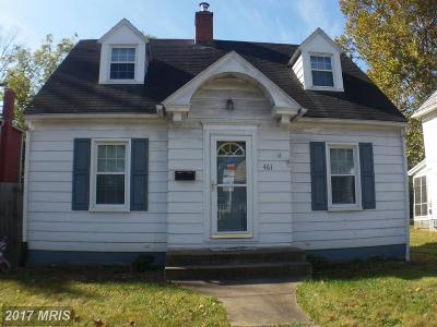 Single Family Home For Sale: 461 Orchard Street