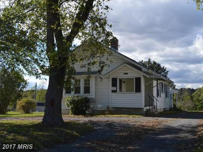 Single Family Home For Sale: 16637 Old Valley Pike