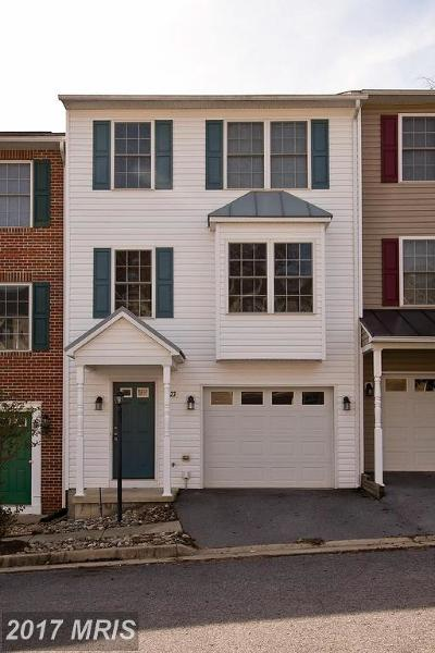 Toms Brook Townhouse For Sale: 23 Toms Brook Drive