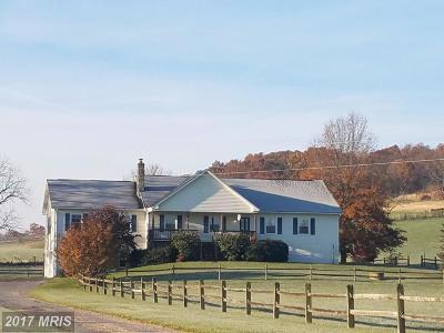 Mount Jackson Single Family Home For Sale: 1087 Crooked Run Road