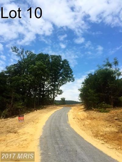 Maurertown Residential Lots & Land For Sale: Camilla Court Lot # 10