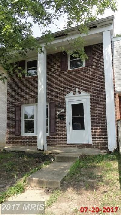 Lexington Park Townhouse For Sale: 46856 Flower Drive