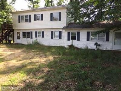 Saint Marys Single Family Home For Sale: 22880 Dement Lane