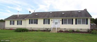 Mechanicsville Single Family Home For Sale: 38655 Chaptico Road