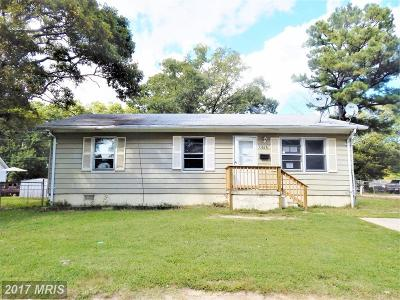 Lexington Park MD Single Family Home For Sale: $74,900