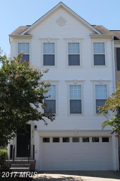 Lexington Park Townhouse For Sale: 46110 W. Westbury Boulevard