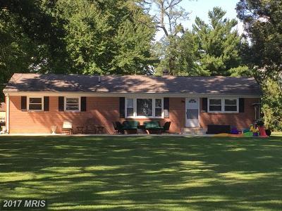 Saint Marys Single Family Home For Sale: 21410 Springfield Road