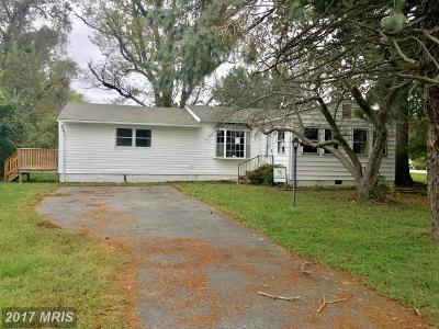 Mechanicsville MD Single Family Home For Sale: $169,900
