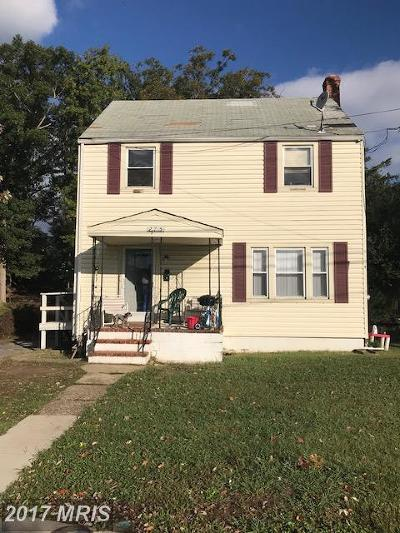 Saint Marys Single Family Home For Sale: 21705 Great Mills Lane