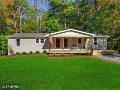 Lexington Park Single Family Home For Sale: 20735 Hermanville Road