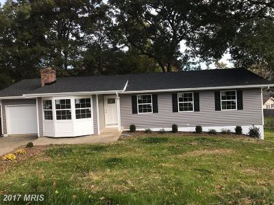 Lexington Park Single Family Home For Sale: 21993 Spring Valley Court