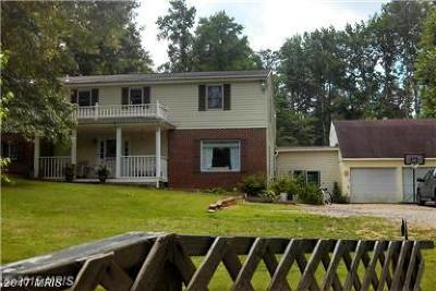 Saint Marys Single Family Home For Sale: 20408 Old Hermanville Road