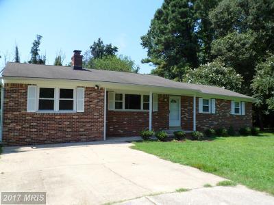 Mechanicsville Single Family Home For Sale: 29769 Allen Road